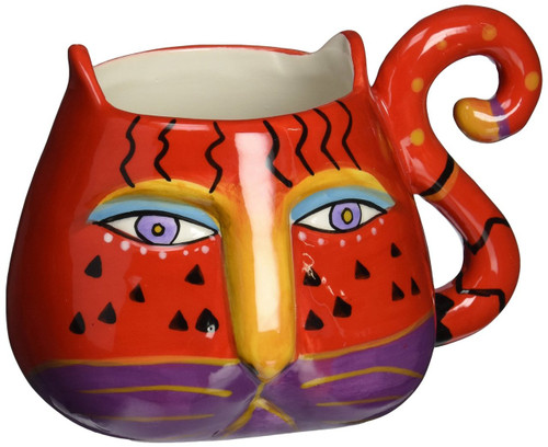 Westland Giftware Ceramic Mug, Fantastical, 16 oz., Multicolor