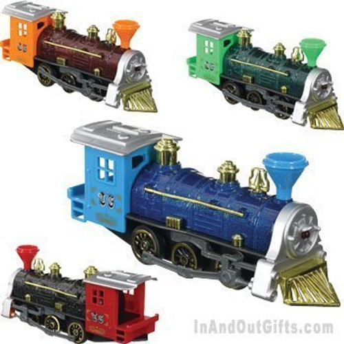 Toysmith Pull Back Train (Colors May Vary)