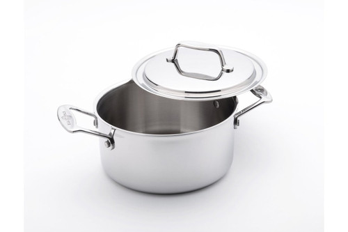 USA Pan 1510CW 3 Qt Stock Pot with Cover, Stainless Steel, 3 Quart