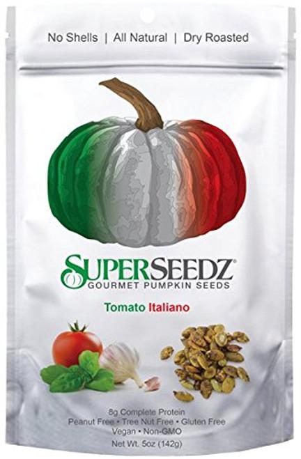 SuperSeedz Gourmet Pumpkin Seeds Tomato Italiano