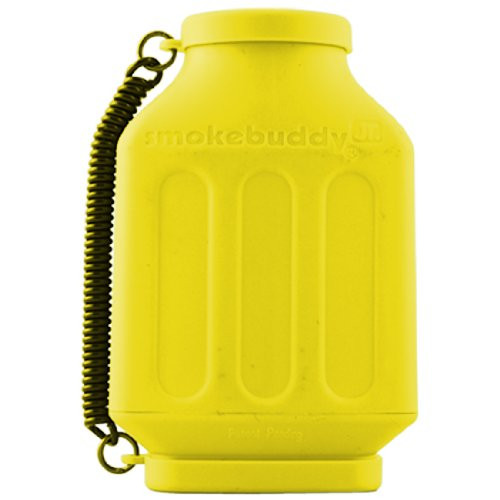 Yellow smokebuddy Jr Personal Air Filter