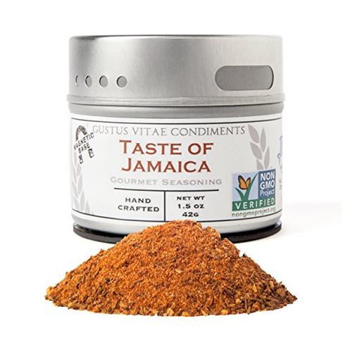 Taste of Jamaica, Non-GMO,2.3oz, Gourmet Seasoning