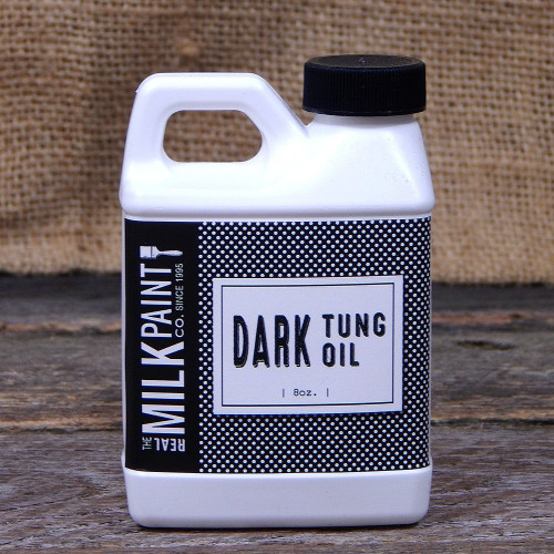 Real Milk Paint Dark Raw Tung Oil - 8 oz.