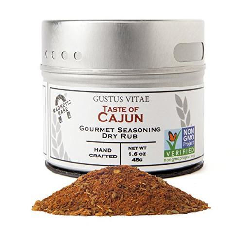 Taste of Cajun, Non-GMO Certified, Small Batch, 1.6 oz, Gourmet Seasoning