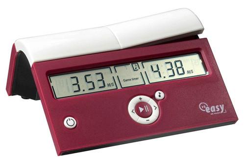 DGT Easy Timer Digital Chess Clock - Crimson Cruz