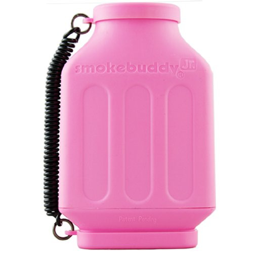 Pink smokebuddy Jr Personal Air Filter