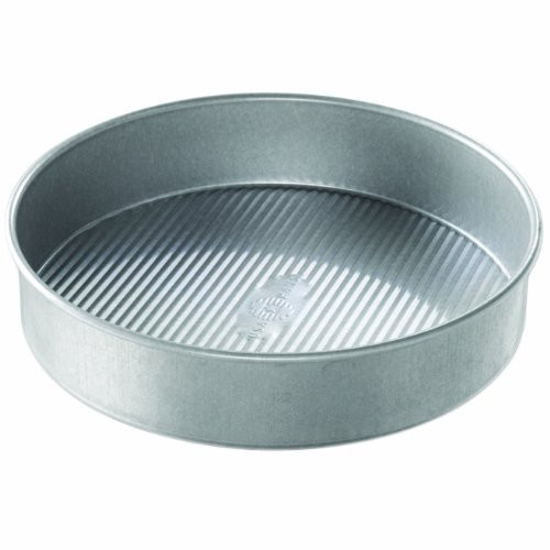 USA Pan Bakeware Aluminized Steel Round Cake Pan, 10-Inch