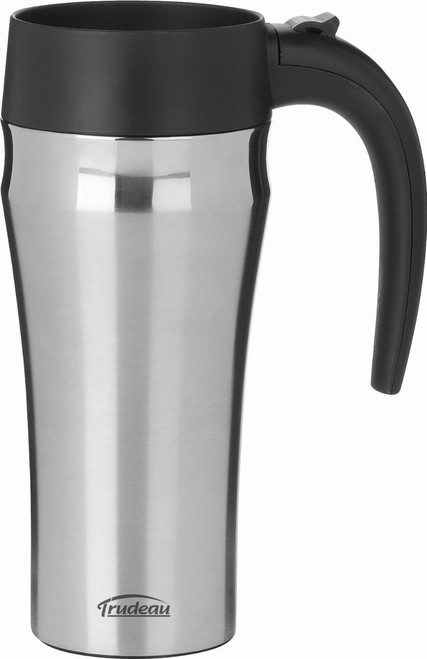 Trudeau Journey Stainless Steel Travel Mug, 16-Ounce
