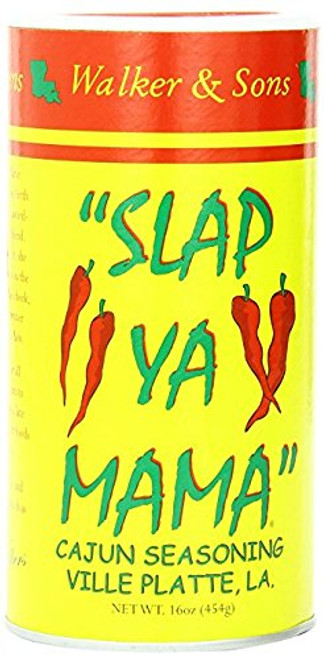 Slap Ya Mama 2 Piece Cajun Seasoning, 16 Ounce