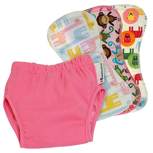 Best Bottom Potty Training Kit, Bubblegum, X-Large