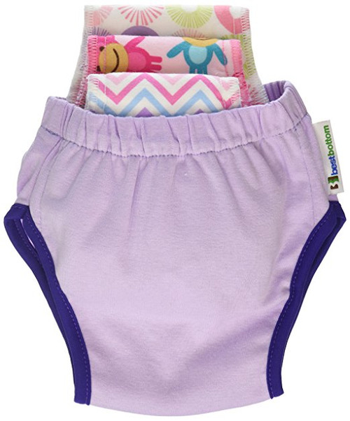 Best Bottom Potty Training Kit, Grape, Medium