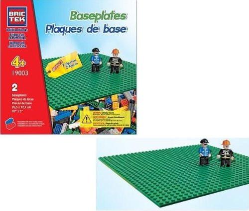 Brictek Baseplates - 2 pcs