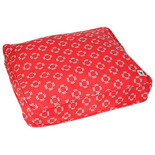 molly mutt Lady in Dog Duvet, Red, Medium/Large