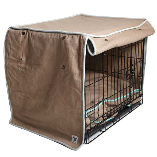 molly mutt wild horses crate cover, big