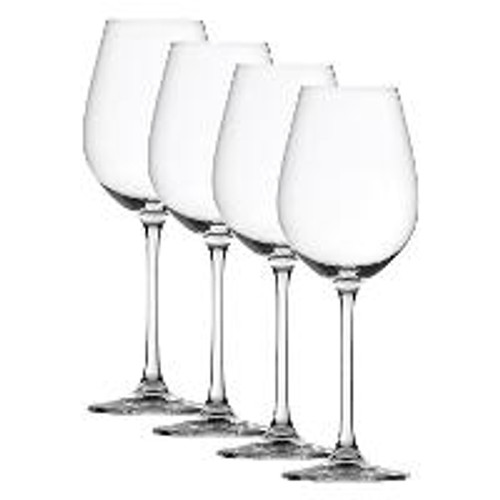 Spiegelau 4720172 Salute White Wine Glasses (Set of 4), Clear