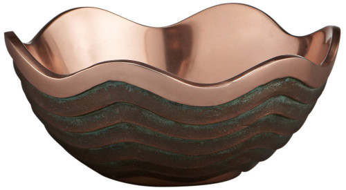 Nambe Copper Canyon 21-Ounce Bowl, 7-Inch by 3-Inch