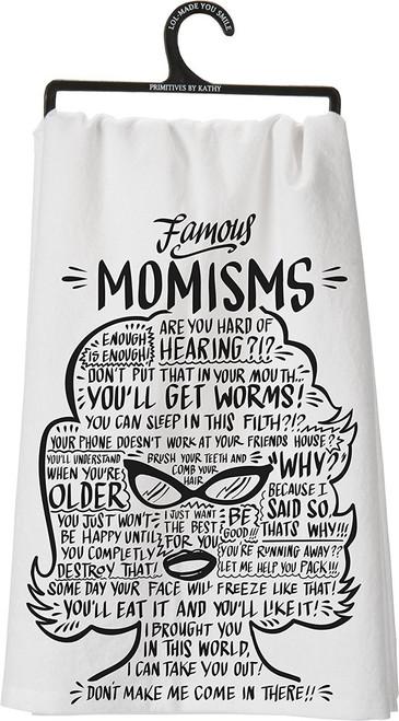 Primitives By Kathy Dish Towel - Famous Momism's