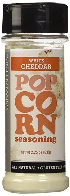 Urban Accents Popcorn Seasoning White Cheddar-2.25 oz-Seasoning