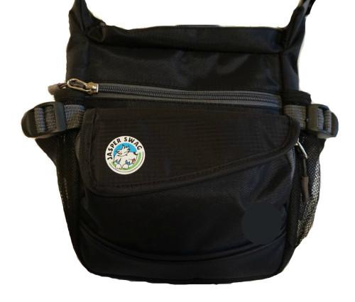 On the Fly Jasper Swag Dog Walking Bag (Grey)