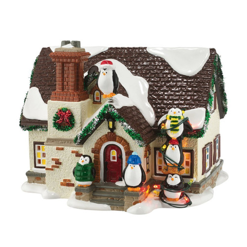 Department 56 4050980 The Penguin House