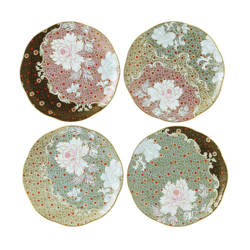 Wedgwood Daisy Tea Story Plates, 8.25-Inch, Set of 4