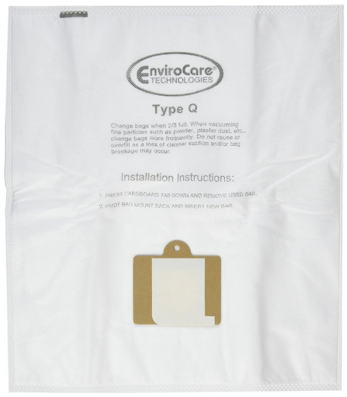 9 Kenmore HEPA Canister Type C, Q, 50558 50555 50557 Sears Anti-Allergen Vacuum Bags