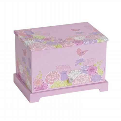 Mele & Co. Piper Girls Musical Ballerina Jewelry Box