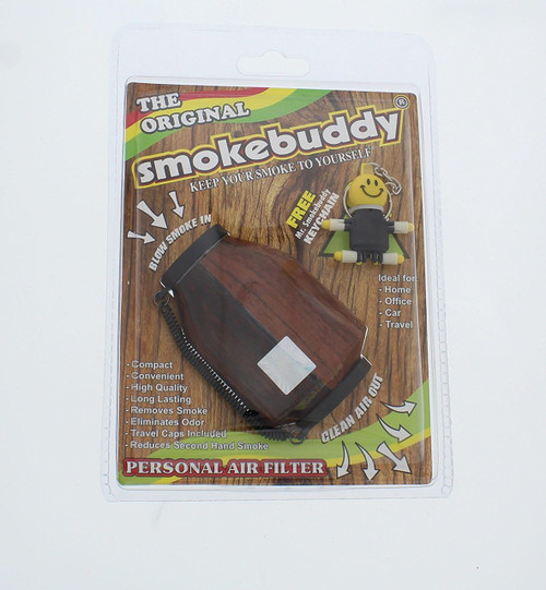 Smokebuddy Original Personal Air Filter with wood Detailing