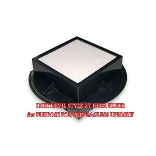 Dirt Devil Purpose For Pets and Vision Cyclonic HEPA Filter F27.