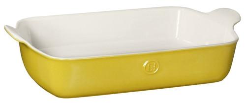 "Emile Henry HR Modern Classics Large Rectangular Baker, 13 x 9"", Yellow"