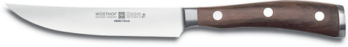 Wusthof Ikon 4-1/2-Inch Steak Knife with Blackwood Handle