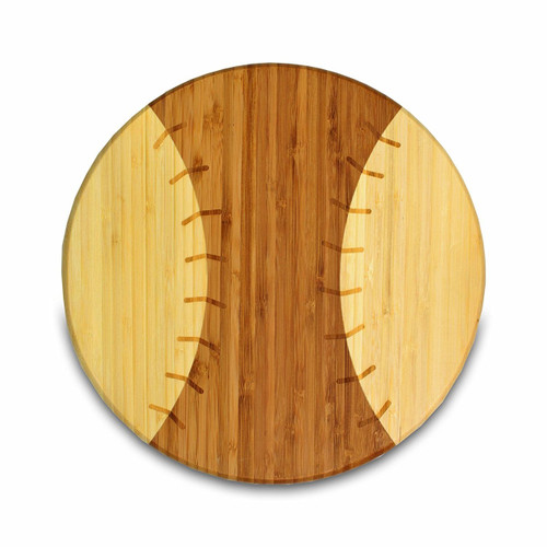 Picnic Time 'Homerun!' Bamboo 12-Inch Cutting Board