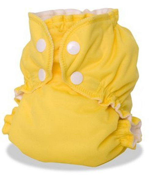 AppleCheeks Reusable Cloth Diaper with Insert, Forget-Me-Not, Size 1 (7-20 lbs)