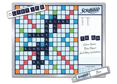Scrabble 2-in-1 Message Board Edition