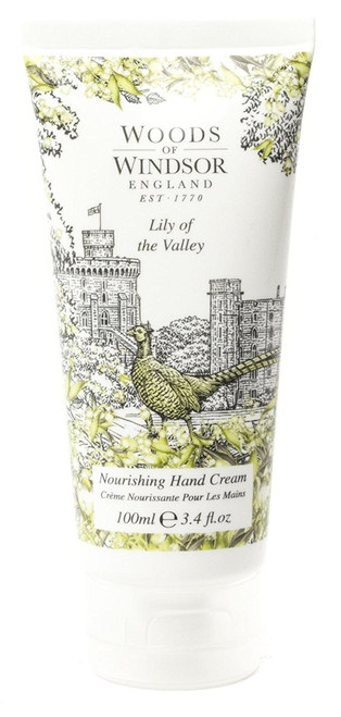 Nourishing Hand and Nail Cream with Shea Butter Made in UK - LILY OF THE VALLEY