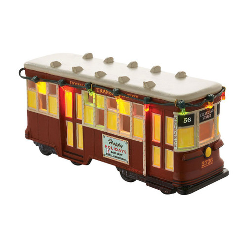 Department 56 A Christmas Story Village From A Christmas Story Streetcar Lit House 3.1 In