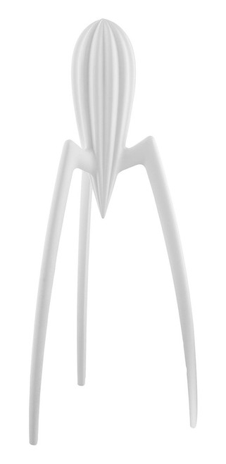 "Alessi ""Juicy Salif"" Citrus-Squeezer in Aluminum Casting, White"