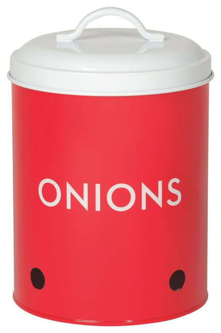 Now Designs Onion Tin, Red