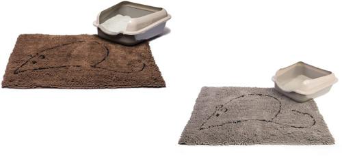 Dog Gone Smart Cat Litter Mat, 35-In by 26-In