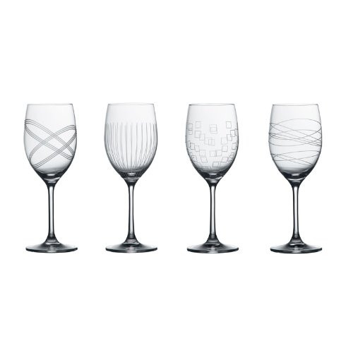 Royal Doulton Party Collection Goblet (Set of 4), Clear