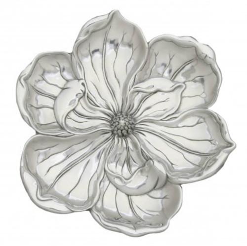 Arthur Court Magnolia Blossom Tray, 11-Inch