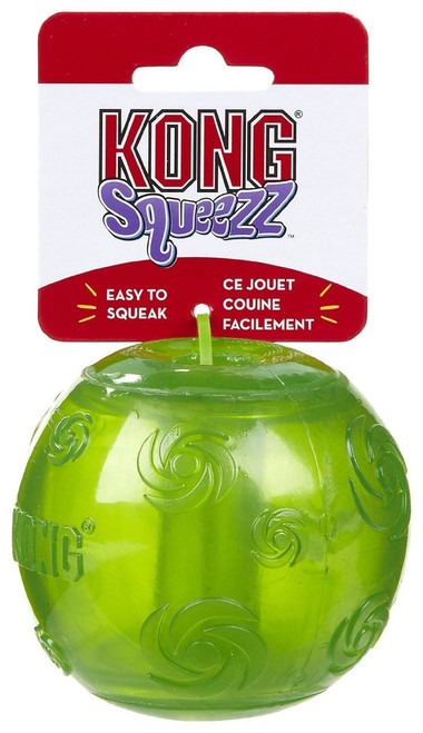 KONG Squeezz Ball - Emerald - X-Large