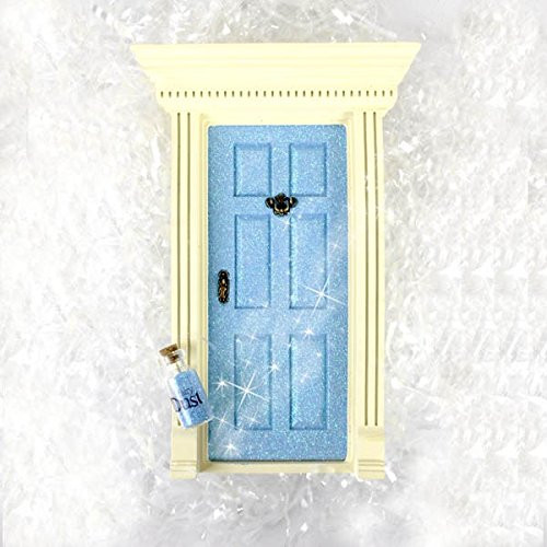 'Lil Fairy Doors (Sparkle Blue)