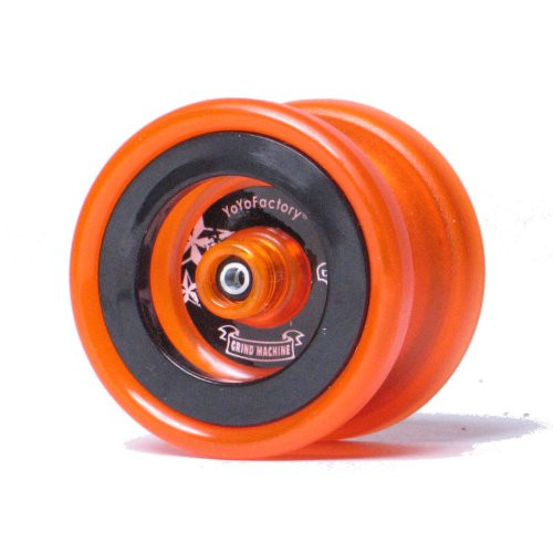 YoYoFactory Neon Collection Grind Machine Yo-Yo - Neon Orange