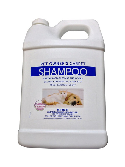 Genuine Kirby Pet Owners Foaming Carpet Shampoo (Lavender Scented)- 1 Gallon - Kirby Part #237507S. Use with SE2 Sentria