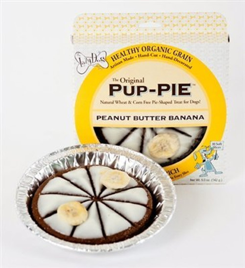 Lazy Dog Cookie Company Original Pup-PIE Dog Treat (Peanut Butter Banana)