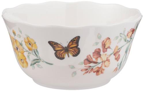Lenox Butterfly Meadow Melamine All Purpose Bowl, White