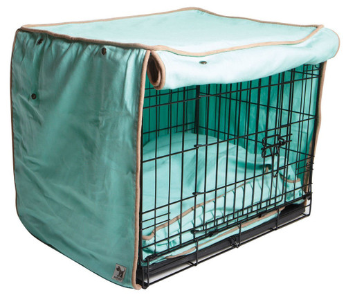 molly mutt nightswimming crate cover, huge