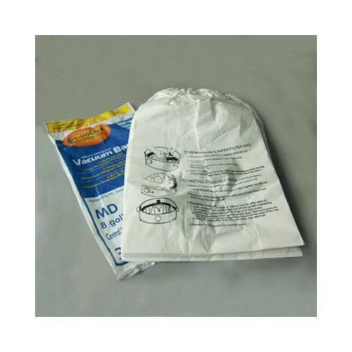Aggressor Modern Day 8 Gallon Central Vacuum Cleaner Bags