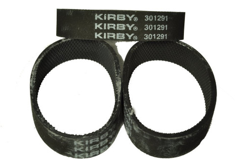 Kirby Ribbed Vacuum Cleaner Belt, Fits: all Kirby upright vacuum cleaners 1960 to present, Kirby Number on belt 301291,